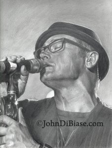 TobyMac sketch by John Dibiase