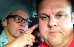 Corey Mann with TobyMac