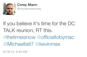 An infamous Corey Mann tweet