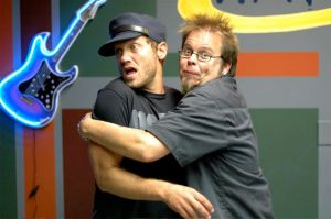 Wally with TobyMac