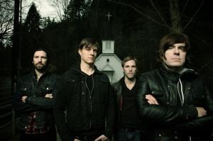 Matt Carter (2nd from left) with Emery