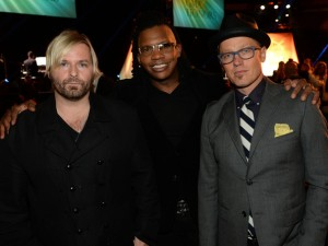 Tait (middle) with dc Talk
