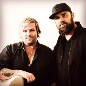 Juan Otero (right) with Kevin Max